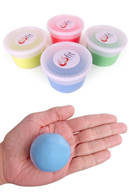 Exercise hand putty